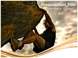Powerpoint Template on Mountain Risk