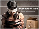 Human Trafficking Factor PowerPoint Templates