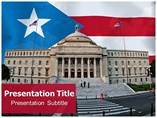 Puerto Rico PowerPoint Backgrounds