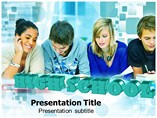 High School PowerPoint template