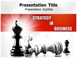 Strategy In Business PowerPoint Theme