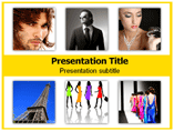 Fashion Capitals And Their Designers Powerpoint Templates