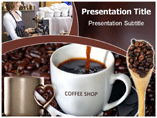 Coffee Shop PowerPoint Themes