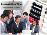 Corporate Taxation Template PowerPoint