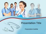 Surgeon Team PowerPoint Slides