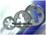 Split Dies PowerPoint Templates