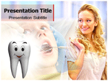 Dental Management PowerPoint Template
