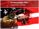 Crime In America PowerPoint Template