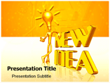 New Idea PowerPoint Slide