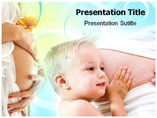 Conception and Pregnancy  PowerPoint Template