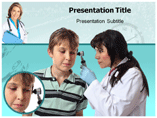 Ear Disorder PowerPoint Template