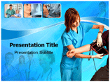 Nursing Care  PowerPoint Template