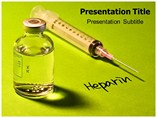Anticoagulation  PowerPoint Template