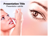 Antiglaucoma drugs  PowerPoint Template