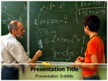 Mathematics Teaching PowerPoint Template