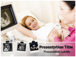 Sonography PowerPoint template (ppt)