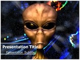 Alien PowerPoint Templates, Editable Alien Life PPT