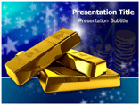 Bullion Market PowerPoint Background
