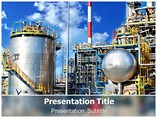 Diesel Power Plant PowerPoint Template