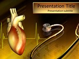 Heart Stethoscope - Powerpoint Template