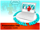 Social Network (media) PowerPoint Template