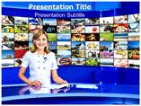 Mass Communication PowerPoint Template