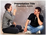 Non Verbal Communication  PowerPoint Template