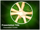 Joined Hands Powerpoint Templates