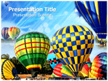 air balloon Powerpoint Templates