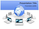 Technology Powerpoint Templates  - Network