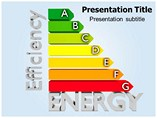 Energy Efficiency Diagram Graph Powerpoint Templates