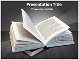 Open Book Powerpoint Templates
