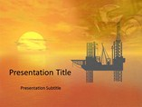 Oil Refinary - Powerpoint Template