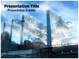 Air pollution powerpoint templates