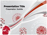 Business abstract powerpoint templates