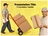 Delivery service powerpoint templates