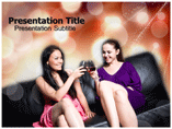Drinking party powerpoint templates