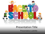 PPT Template on School