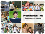 Education service powerpoint templates