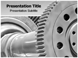 Hydroelectric turbine powerpoint templates