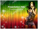Modeling powerpoint templates