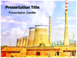 Nuclear reactor powerpoint templates