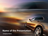 Powerpoint Templates - Car