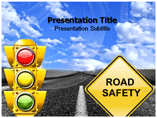 Road safety powerpoint templates