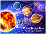 Solar system Information PowerPoint Templates