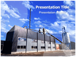Thermal power station powerpoint templates