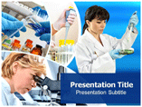 Medical research powerpoint templates