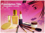 Beauty products powerpoint templates