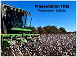 Cotton cultivation powerpoint templates