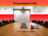 Conference Hall PowerPoint Background